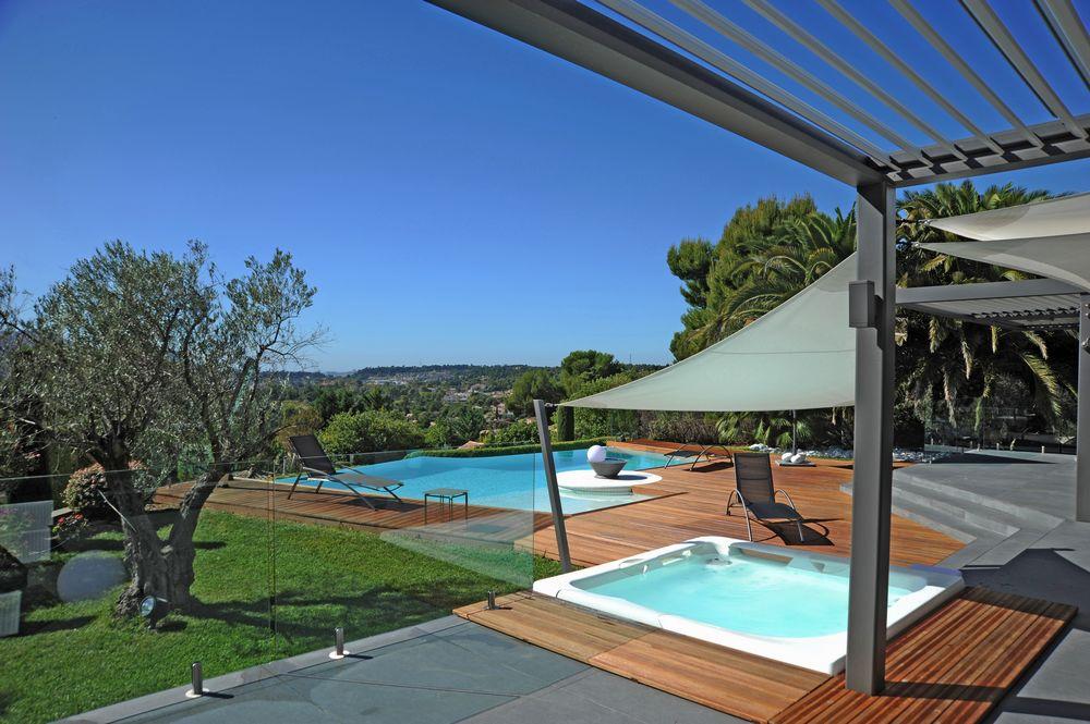 installation spa exterieur Urban encastré design terrasse